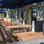 Melbourne Shopfitters outdoor tables and chairs